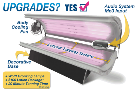 Sunfire 16 Deluxe Home Tanning Bed Sunfiretanningbeds Com
